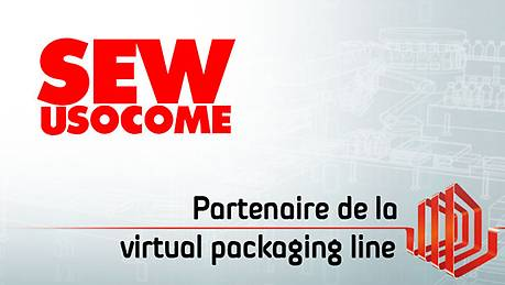 SEW-USOCOME, partenaire de la Virtual Packaging Line